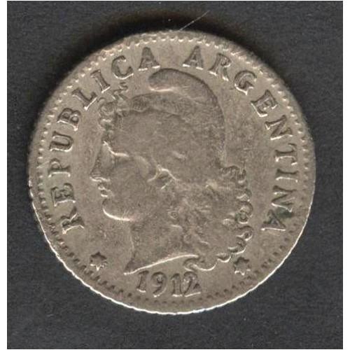 ARGENTINA 5 Centavos 1912
