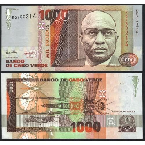 CAPE VERDE 1000 Escudos 1989