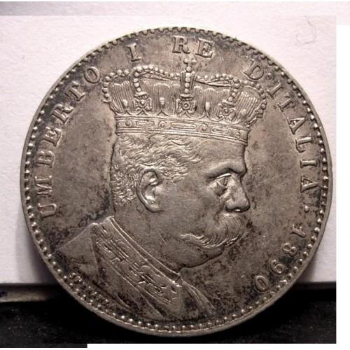 ERITREA 2 Lire 1890 AG