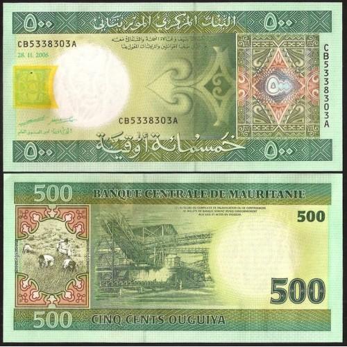 MAURITANIA 500 Ouguiya 2006