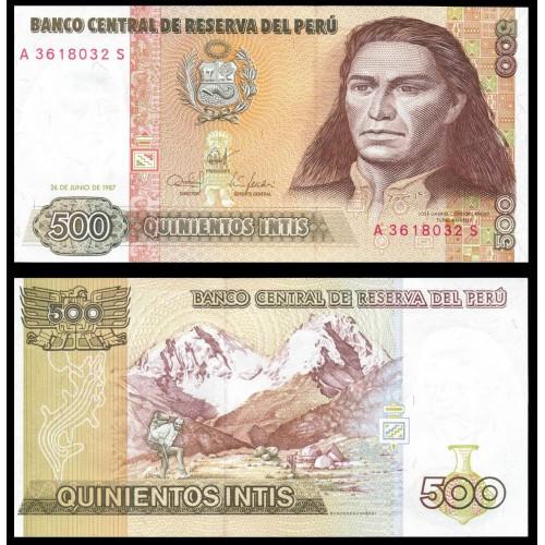 PERU 500 Intis 1987