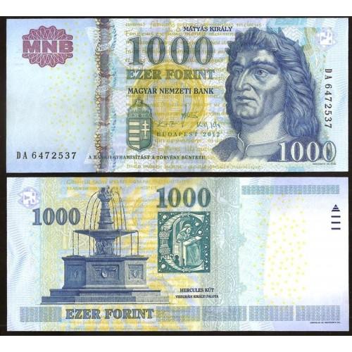 HUNGARY 1000 Forint 2012