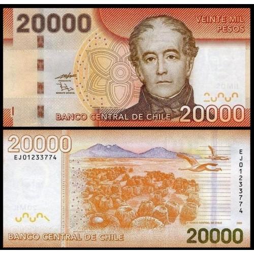 CHILE 20.000 Pesos 2009