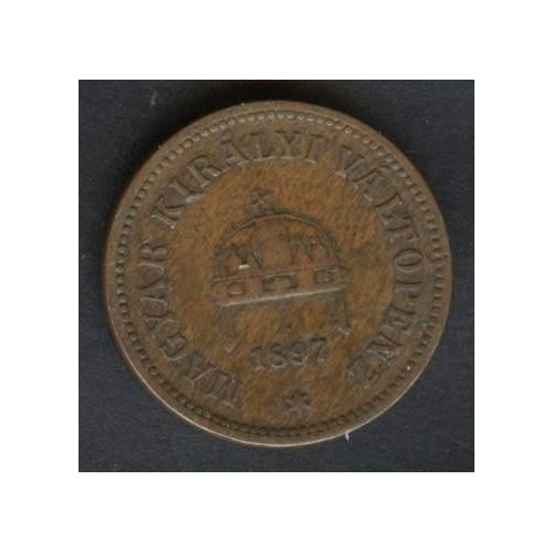 HUNGARY 2 Filler 1897