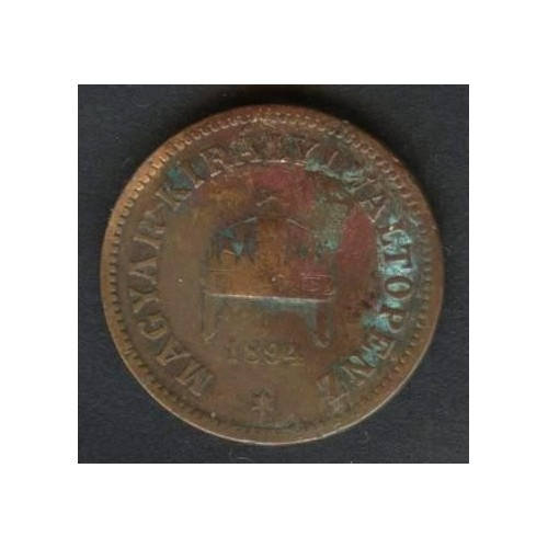HUNGARY 2 Filler 1894