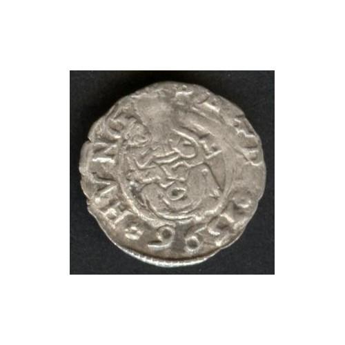 HUNGARY Denar 1596 AG...