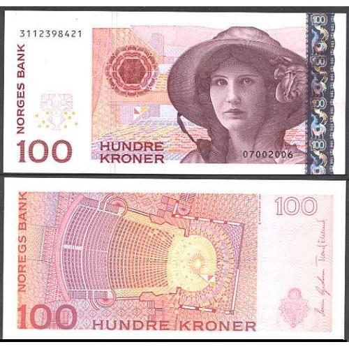 NORWAY 100 Kroner 2006