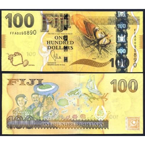 FIJI 100 Dollars 2013