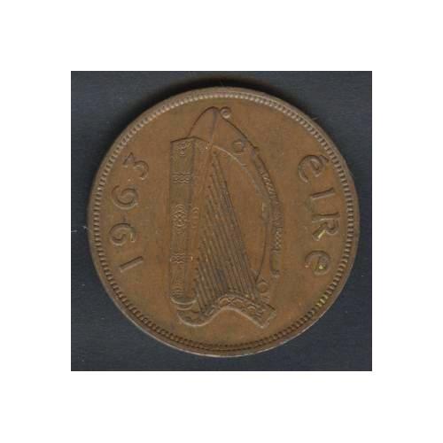 IRELAND 1 Penny 1963