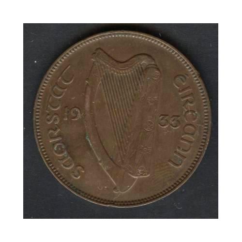 IRELAND 1 Penny 1933