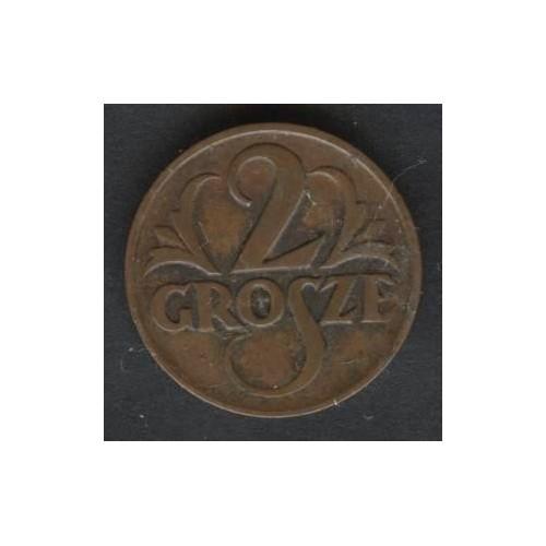 POLAND 2 Grosze 1925