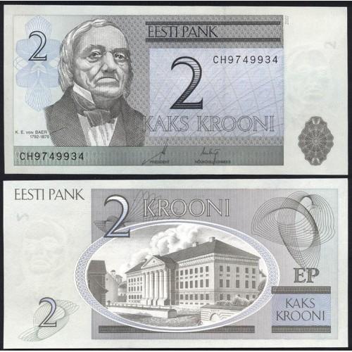 ESTONIA 2 Krooni 2007