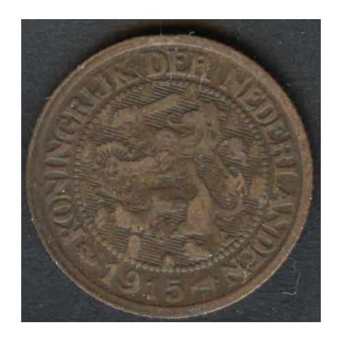 NETHERLANDS 1 Cent 1915