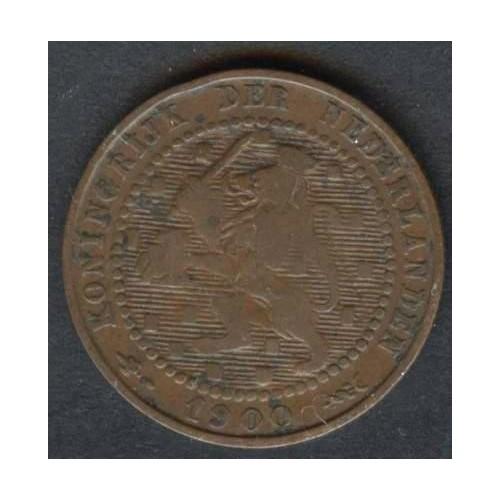 NETHERLANDS 1 Cent 1900