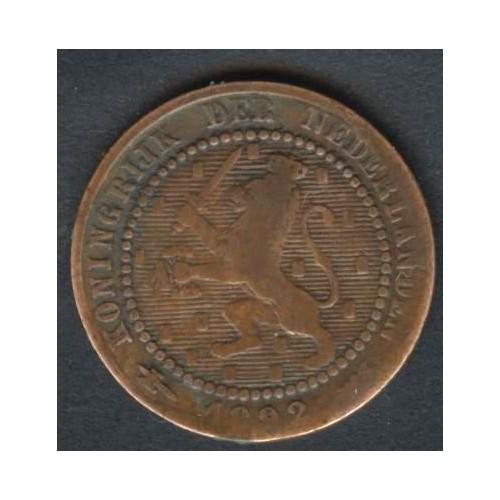 NETHERLANDS 1 Cent 1892