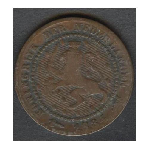 NETHERLANDS 1 Cent 1884
