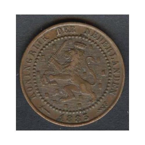 NETHERLANDS 1 Cent 1883
