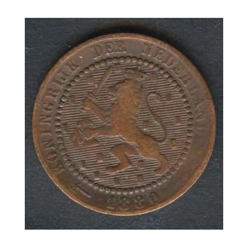 NETHERLANDS 1 Cent 1880