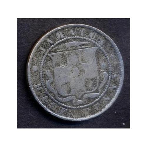 JAMAICA 1/2 Penny 1880