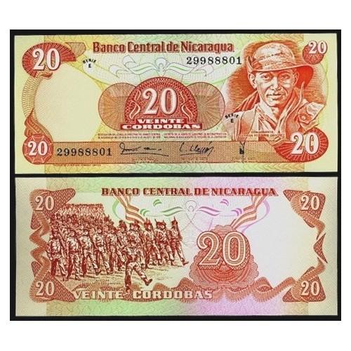 NICARAGUA 20 Cordobas 1979
