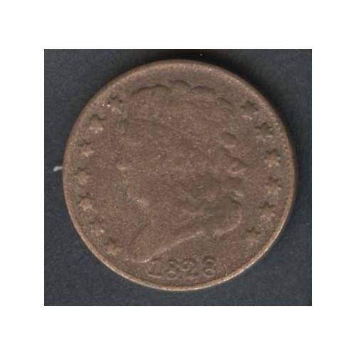 USA Classic Head Half Cent...