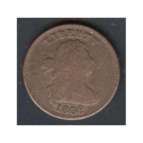 USA Draped Bust Half Cent 1808