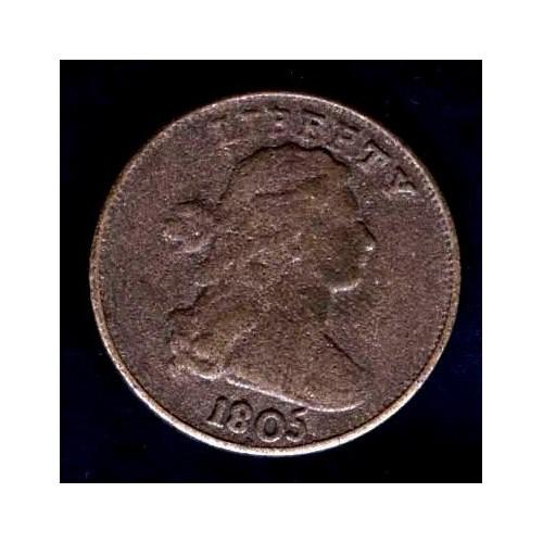 USA Druped Bust 1 Cent 1805