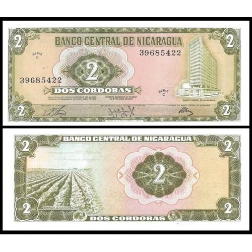 NICARAGUA 2 Cordobas 1972