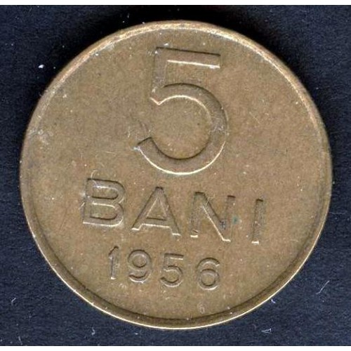 ROMANIA 5 Bani 1956