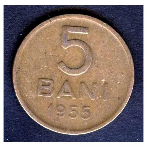 ROMANIA 5 Bani 1955