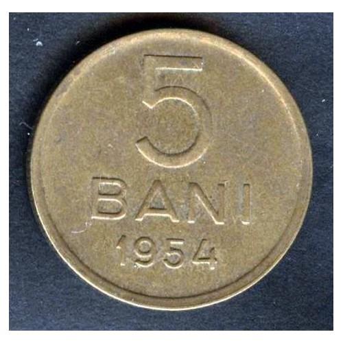 ROMANIA 5 Bani 1954