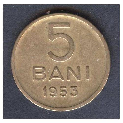 ROMANIA 5 Bani 1953