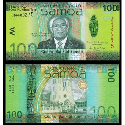 WESTERN SAMOA 100 Tala 2012...
