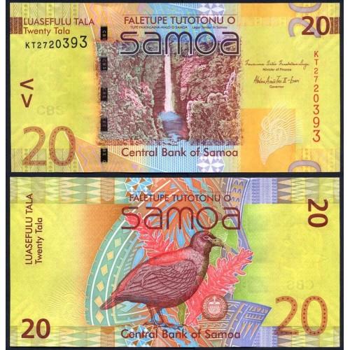 WESTERN SAMOA 20 Tala 2008