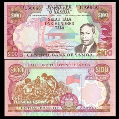 WESTERN SAMOA 100 Tala 1990