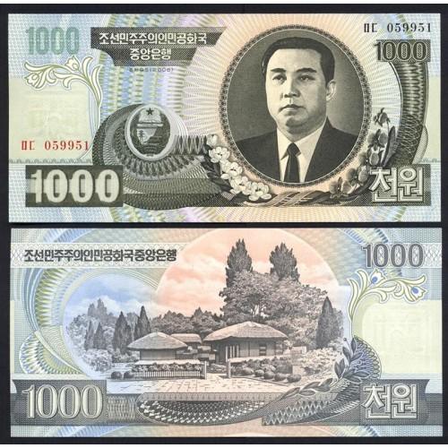 NORTH KOREA 1000 Won 2006
