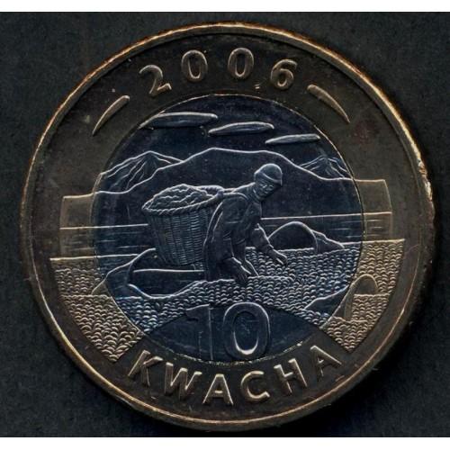 MALAWI 10 Kwacha 2006...