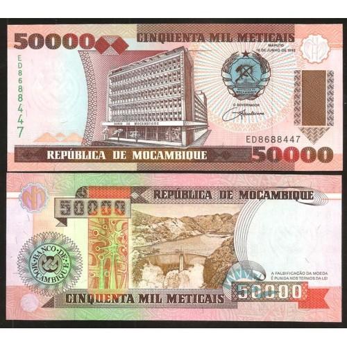 MOZAMBIQUE 50.000 Meticais...