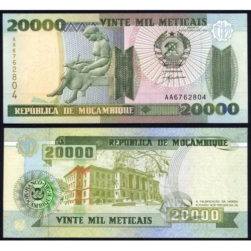 MOZAMBIQUE 20.000 Meticais...
