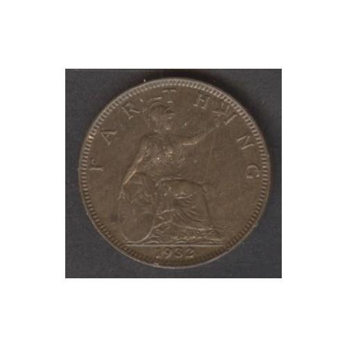 GREAT BRITAIN 1 Farthing 1932