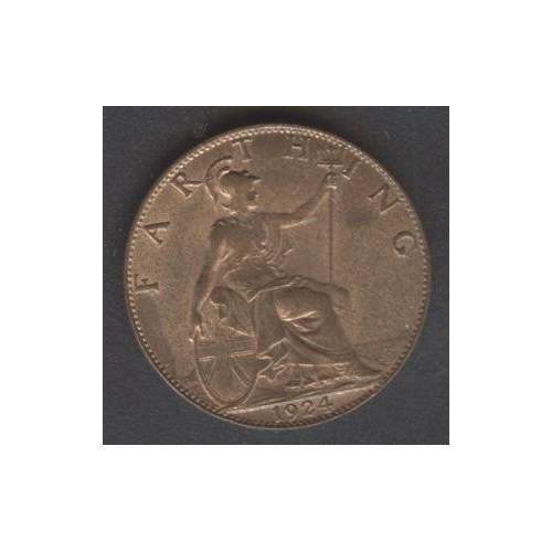 GREAT BRITAIN 1 Farthing 1924