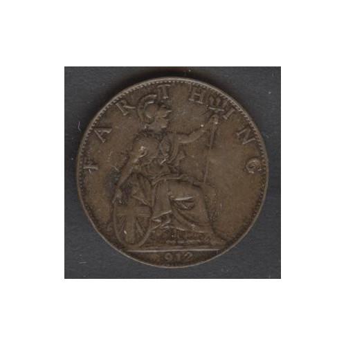 GREAT BRITAIN 1 Farthing 1912