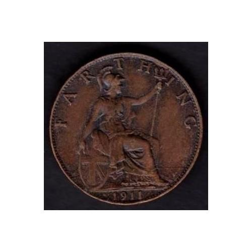 GREAT BRITAIN 1 Farthing 1911