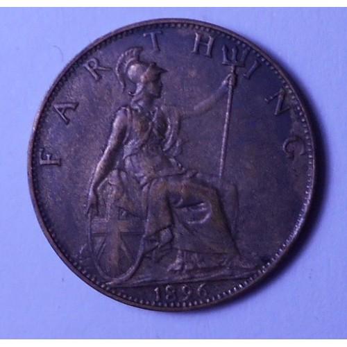 GREAT BRITAIN 1 Farthing 1896