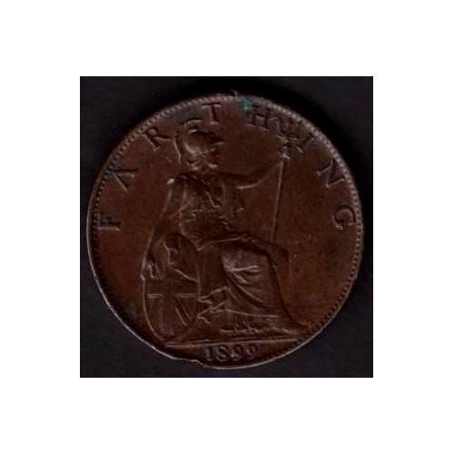 GREAT BRITAIN 1 Farthing 1899