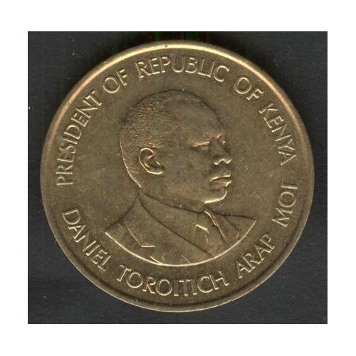 KENYA 10 Cents 1990