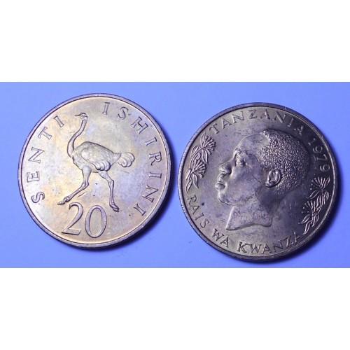 TANZANIA 20 Senti 1979