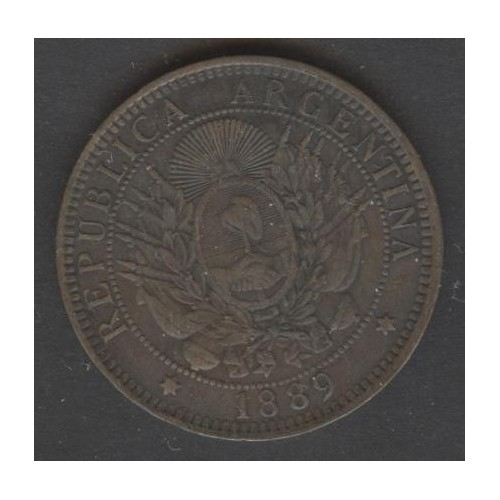 ARGENTINA 2 Centavos 1889