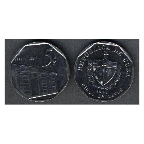 CUBA 5 Centavos 1994