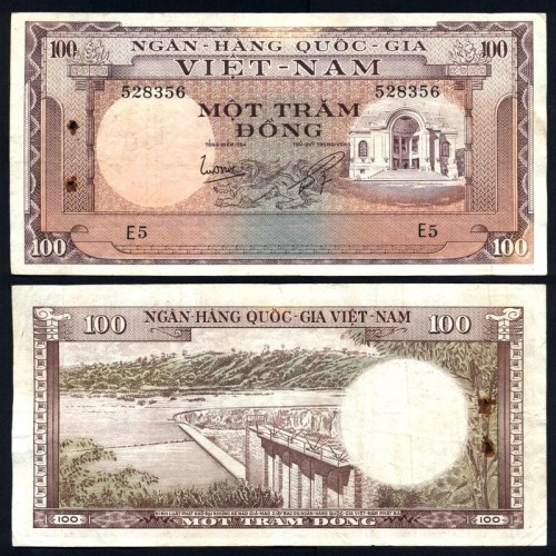 VIET NAM SOUTH 100 Dong 1966